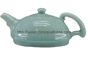 Celadon tea pot