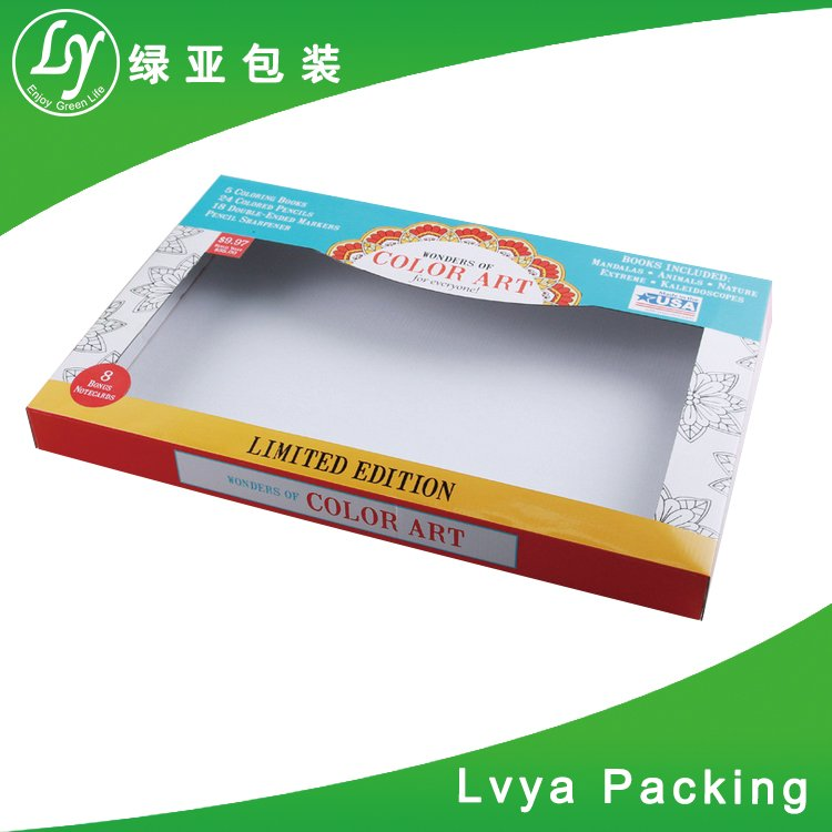 Custom Printed Folding Cardboard Double Retail Packaging gift box