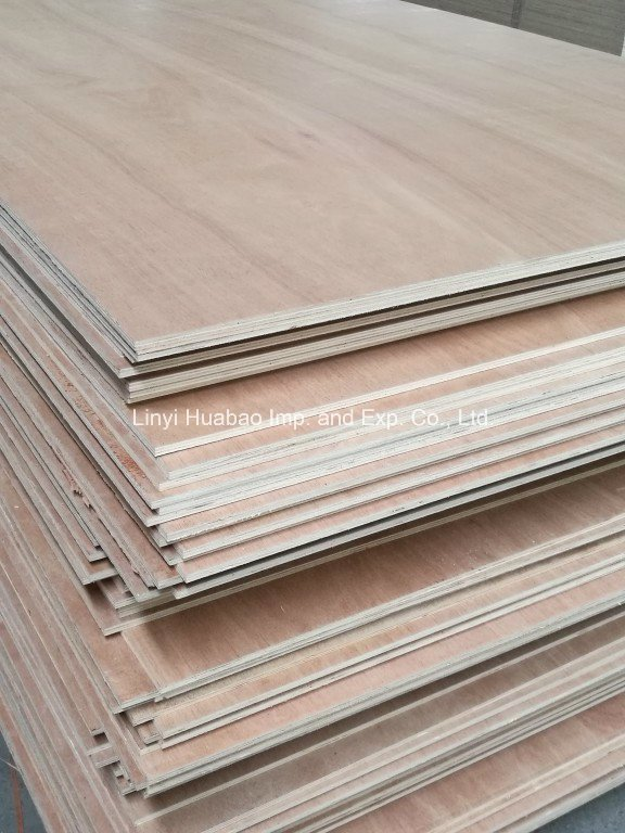 Meranti Face/Back Plywood Poplar Core BB/CC Grade