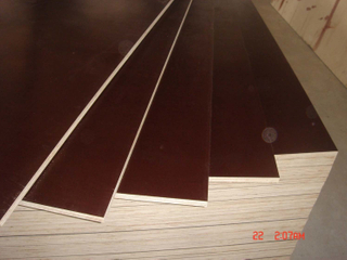 Brown/Black Film Faced Plywood Poplar Core for Shuttering/Concrete Usages