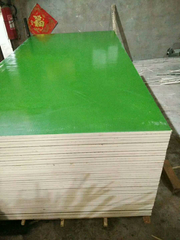 Plastic Film Faced Plywood Green Color WBP Glue for Shuttering