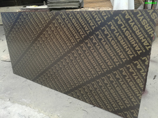 20*1220*2440mm Poplar Core Brown Film Faced Plywood WBP Glue