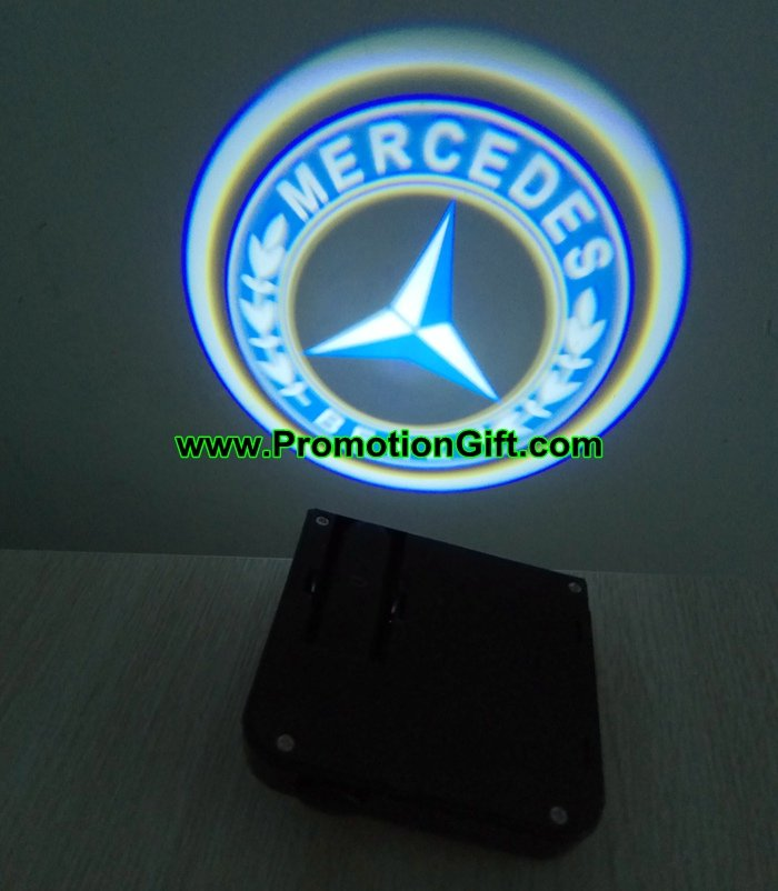 Car door logo projector lights