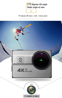 4K DV Cam WiFi Ultra HD Waterproof Camera Sport Camera