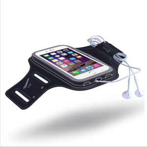 Multi-Function Lycra Armband for iPhone Unisex Sport Ultra-thin Breathable Arm Bag Cell Mobile Phone Lycra Armband