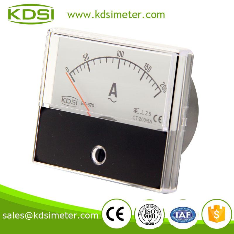 单相电流表 bp-670 ac200/5a