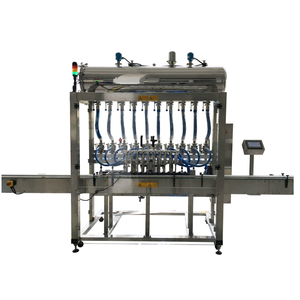 Automatic in-line filling machine for Cream