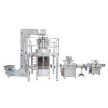 granule filling line for mixed nut, candy, seed etc