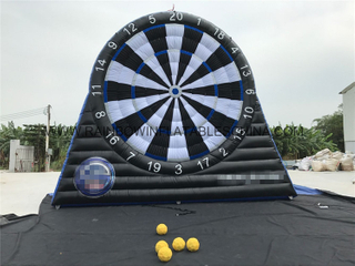 RB9019-1(7x6m)Inflatable Football Dart Board For Outdoor&Indoor Playground