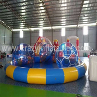 RB31015(3x3m)Inflatable zorb ball pool island hot sale