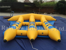 RB32024(3.3x3.3m)Inflatable Fly Fishing Banana Boat for Sale/Inflatable Sealed Boat