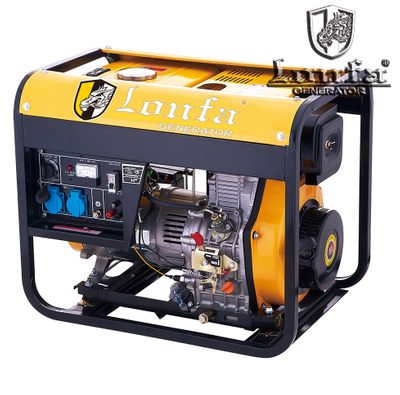 2.0kVA - 8.0kVA OPEN FRAME DIESEL GENERATOR (LF3800/5800DCE-A)