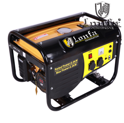 6.5HP HAND START MANUAL GASOLINE GENERATOR SET (LF3700-F)