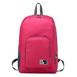 Foldable sturdy nylon backpack