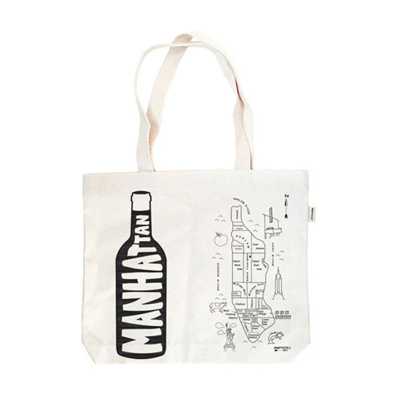 Natural Cotton Canvas Singe Wine Tote Bag//Wine Carry Bag//Wine Gift Bag
