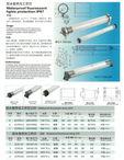 WATER PROOF FLUORESCENT LIGHTS PROTECTION IP67
