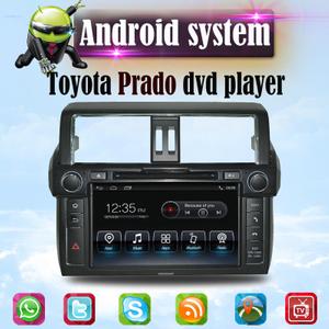 Android Toyota PRADO dvd player