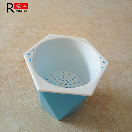 Double deck flowerpots/New flower pot from china