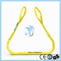 WLL 3T Eye and Eye Polyester Round Sling