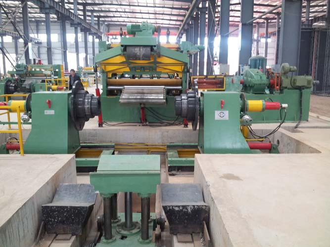 High Speed Steel Coil Slitting Machine
