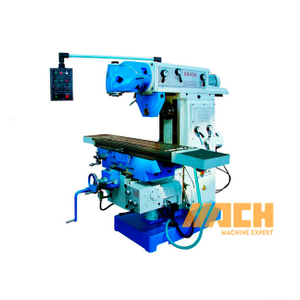X6436 Metal Chinese Universal Vertical Swivel Head Milling Machine