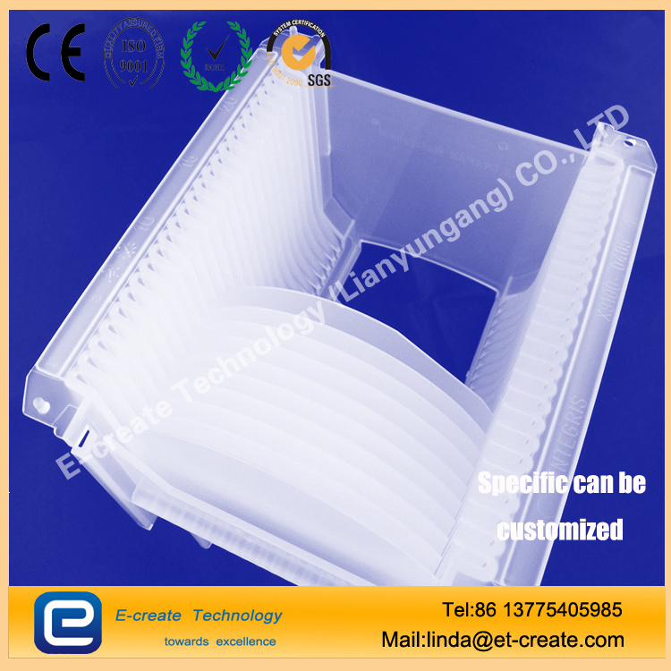 Glass wafers for semiconductor packaging 0.1mm thickness wafer 4 inch, 6 inch, 8 inch
