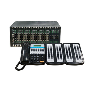 Hotel 160 lines Analog PABX PBX System of Telephone