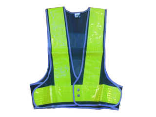 Safety High Visiblity Vest with Reflective Tape