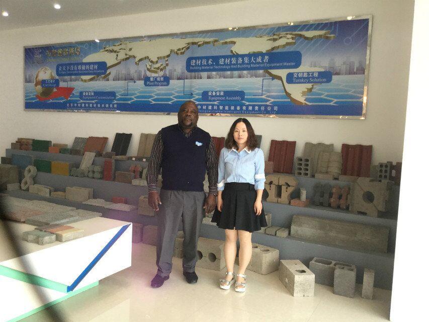 L'agent du Malawi de machine de ZCJK a visité l'usine de ZCJK avant