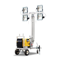 Mobile Diesel Lighting Towers For Sale VL4K-C