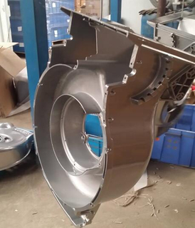 Aluminum die casting for moto cover Part weight: 1kg