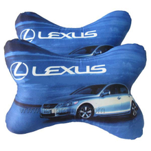 Automobile Promotional Gift Car Logo Embroidery Seat Head Rest Cushion
