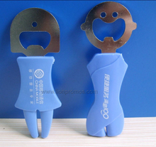 Telecom Promotional Campaign Gift Plastic Bottle Opener
