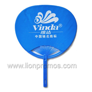 Both Sides Colorful Printing Promotional Premium PP Fan