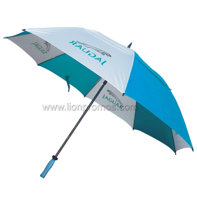 Car Logo Automotive Sales VIP Gift Two Layers Wind Proof Golf Umbrella