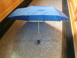 European Union Government Folding Up Umbrella
