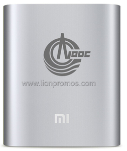 CNOOC Custom Logo Laser Engraved Original Mi Power Bank 10400MAH