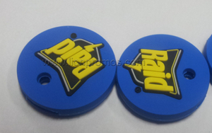 SC Johnson Raid Logo Events Promotional Gift Rubber key Cover