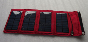 RICOH Promotional Gift Folding 5W Solar Panel Charger