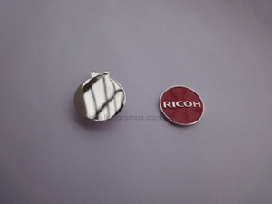 RICOH Logo Promotional Magnet Zinc Alloy Metal Golf Mark