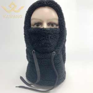 Kawang custom breathable thermal plush dust neck face mask cycling balaclava