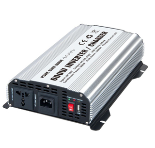 600W Pure Sine Wave Power Inverter WITH CHARGER