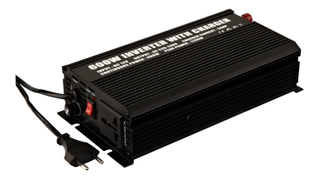 600W Modified Sine Wave Power Inverter WITH CHARGER (600W/5A)