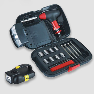 24 PCS Hand Tool Set with Flashlight