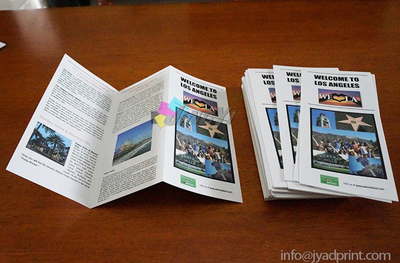 Quality Fold Leaflet & Flyer with Glossy or Matte Lamination on Both Sided, Tearproof & Waterproof Advertising Art Paper Poster, Promotion Paper Flyers, Booklets, Brochure Printing