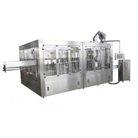 Full Automatic Water Washing Filling Capping Machine With Online Cap Sterilizer (3 in 1)