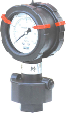 PG-071 Double-side P.P Diaphragm Pressure with bottom connection