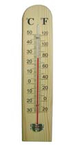 CF308-6A Wooden Thermometer