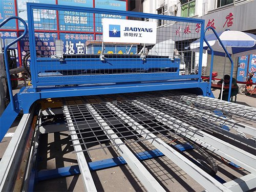 3 Construction Mesh Coil Machine