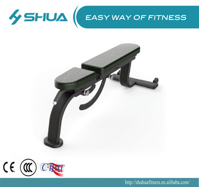 Adjustable dumbbell bench